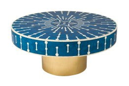 5th Avenue Santorini Coffee Table – Bone Inlay