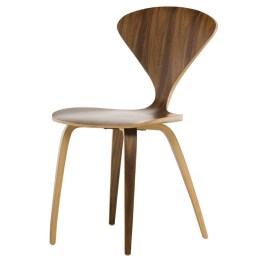 SATINE DINING CHAIR WALNUT
