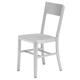 TRIBECCA DINING CHAIR SILVER