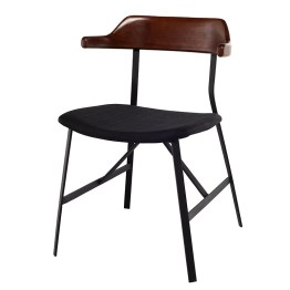 SWELL DINING CHAIR BLACK