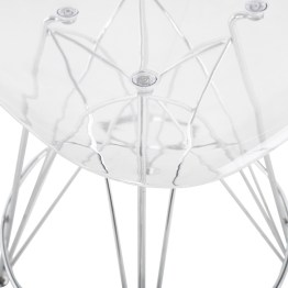 STYLUS COUNTER STOOL CLEAR