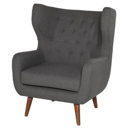 VALTERE OCCASIONAL CHAIR SLATE GREY