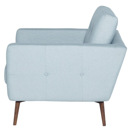 INGRID OCCASIONAL CHAIR CARIBBEAN BLUE
