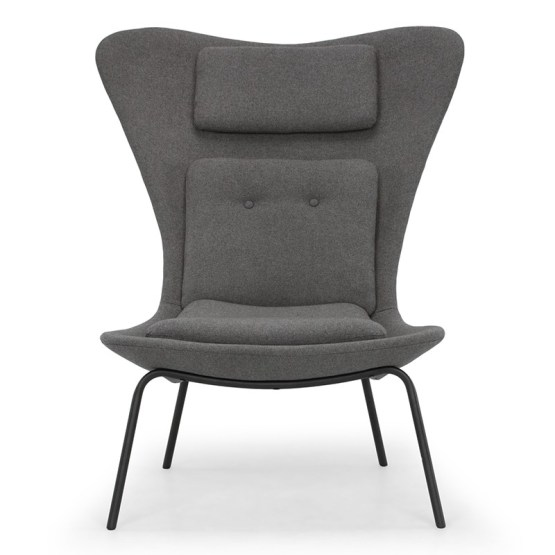 BARLOW OCCASIONAL CHAIR FOSSIL GREY