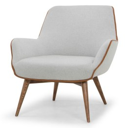 GRETCHEN OCCASIONAL CHAIR STONE GREY