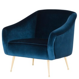 LUCIE OCCASIONAL CHAIR MIDNIGHT BLUE