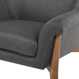CHARLIZE OCCASIONAL CHAIR STORM GREY