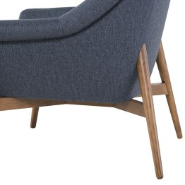 CHARLIZE OCCASIONAL CHAIR DENIM TWEED