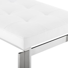 VINCENT BENCH WHITE