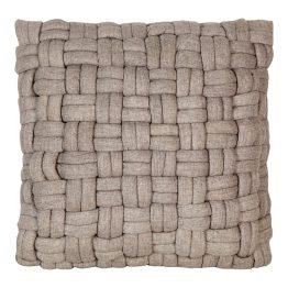 Bronya Wool Pillow Cappuccino