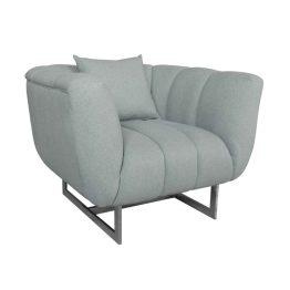 Butler Arm Chair Grey