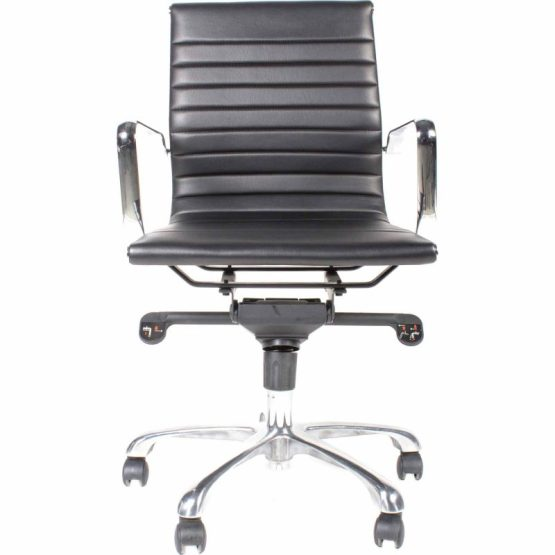 Omega Office Chair Low Back Black