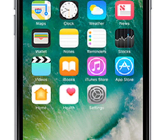 Apple Iphone  Gb Space Grey Front