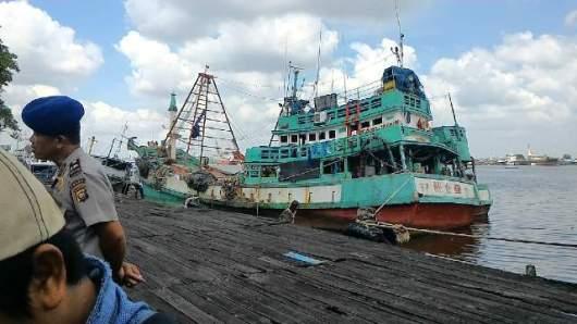Dua Kapal Vietnam Yang Diamankan Petugas