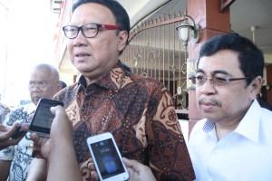 Menteri Dalam Negeri (Mendagri) RI Tjahjo Kumolo saat berkunjung ke Tarakan. (him)