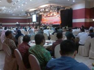 Salah satu pembahasan Rapat Koordinasi Stakeholder yang digelar Bawaslu Kaltara di Hotel Tarakan Plaza, Kamis (03/09), yakni menekankan netralitas PNS dalam Pilkada. (him)