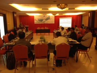 Rapat koordinasi Science Park di Swiss Bell Hotel Kota Tarakan.