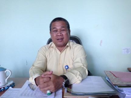 Dekan Fakultas Ekonomi Universitas Borneo Saiful Anwar