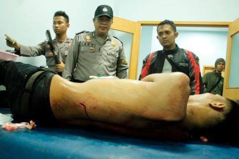Kondisi Maf saat dilarikan ke RSUD Kota Tarakan untuk Mendapatkan Pertolongan Pertama.