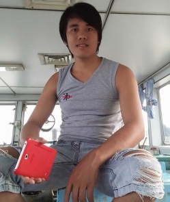 Samsir ABK Kapal Tugboat Hendry yang disandera kelompok Abu Sayyap saat hendak pulang dari Filipina menuju Kota Tarakan.