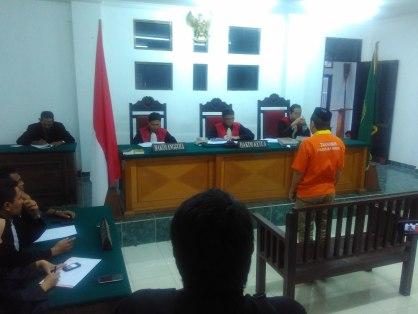 Arman Suyuti alias Sadang alias Bang Toyib pemilik sabu 2 kilogram divonis bebas oleh PN Tanjung Selor.