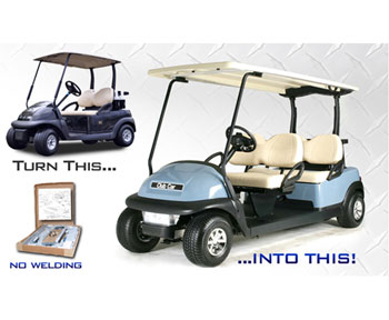 Club Car Precedent golf cart limo-stretch kit- $1,725.00