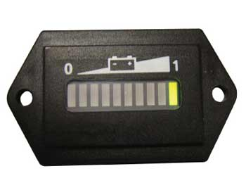 Golf Cart 48 Volt State of Charge Meter- $49.95