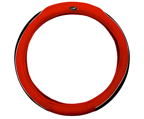 Golf Cart red and black steering wheel cover - $19.95