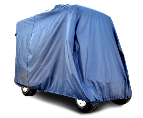 Universal 4 passenger golf cart cover with 116 inch top- $129.00