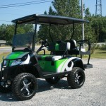 E-Z-GO RXV Custom Lifted golf Cart in our Customer Cart Gallery