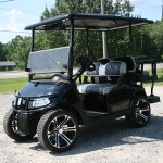E-Z-GO RXV - Black golf cart