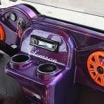 E-Z-GO RXV Dashboard - Clemson-inspired Golf Cart