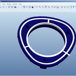 Ontwerp van een kunststof ring met afdichting