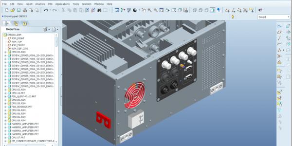 ontwerp rack module
