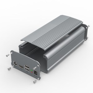 D1001440 – Elektronica enclosure 95B55H125L assemblage