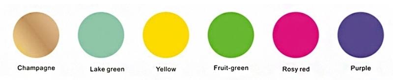 Welke kleuren zijn mogelijk bij anodiseren ?