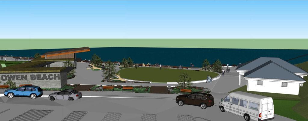 Improvements at Owen Beach