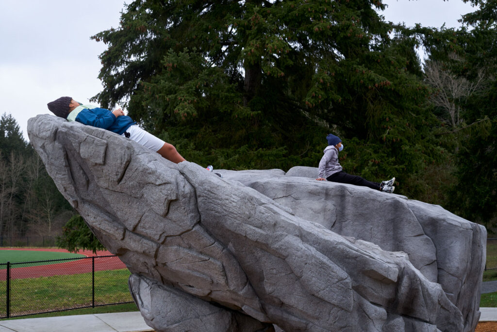 Students celebrate new community climbing facility in Tacoma 2