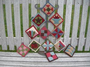 Assorted Quilt Ornaments