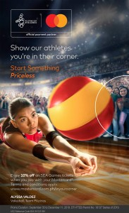 Mastercard Rallies Support for Filipino Athletes for the 30th SEA Games