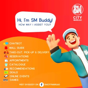 'SM Buddy' chatbot now available in SM City Marilao