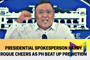 Presidential Spox Roque feeling victorious for beating UP prediction