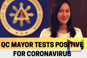 QC Mayor Joy Belmonte tests positive for coronavirus
