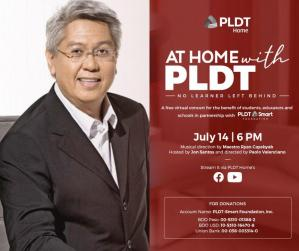 National Artist Maestro Ryan Cayabyab leads top OPM artists  in FREE virtual benefit concert with PLDT Home
