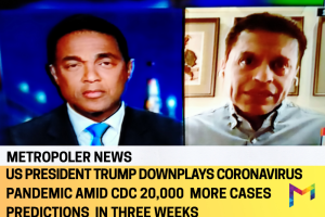 Coronavirus Pandemic in the US: 1,000 reported daily deaths in 5 straight days