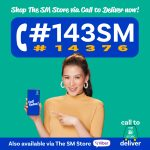 The SM Store launches its new ambassador for its Call to Deliver service Alex Gonzaga and its new hotline number #143SM (#14376)
