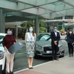Araneta City, Audi PH awards brand-new cars to Christmas raffle winners
