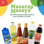 Shop for your favorite NutriAsia products safely from home via Shopee and Lazada
