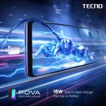 Don't miss the special POVA launch sale on the TECNO Mobile Shopee Store