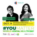 Araneta City celebrates #YouMatter on World Mental Health Day